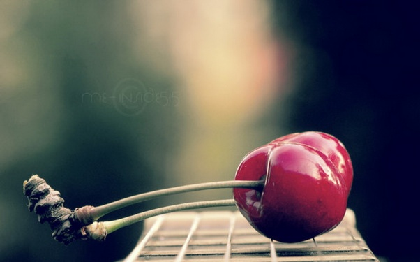 berry, cherry, macro, meal