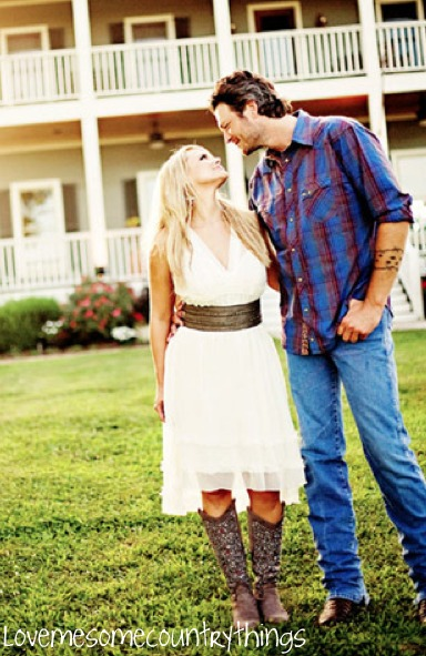 blake shelton, couple, love, miranda lambert