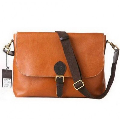 mulberry men albert satchel natural leather oak messenger bag, mulberry men bags, mulberry messenger bags