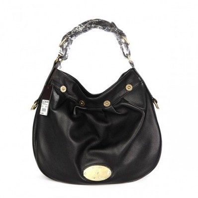 mulberry bags collections, mulberry mitzy, mulberry women mitzy east west leathers black hobo bag