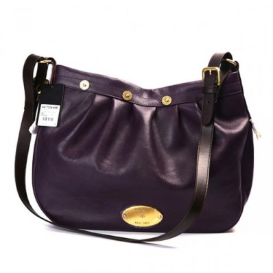 mulberry bags collections, mulberry mitzy, mulberry women mitzy leathers messenger purple bag