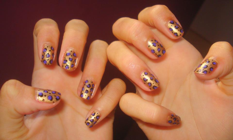 nail art, design, animal print