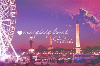 paris, love people