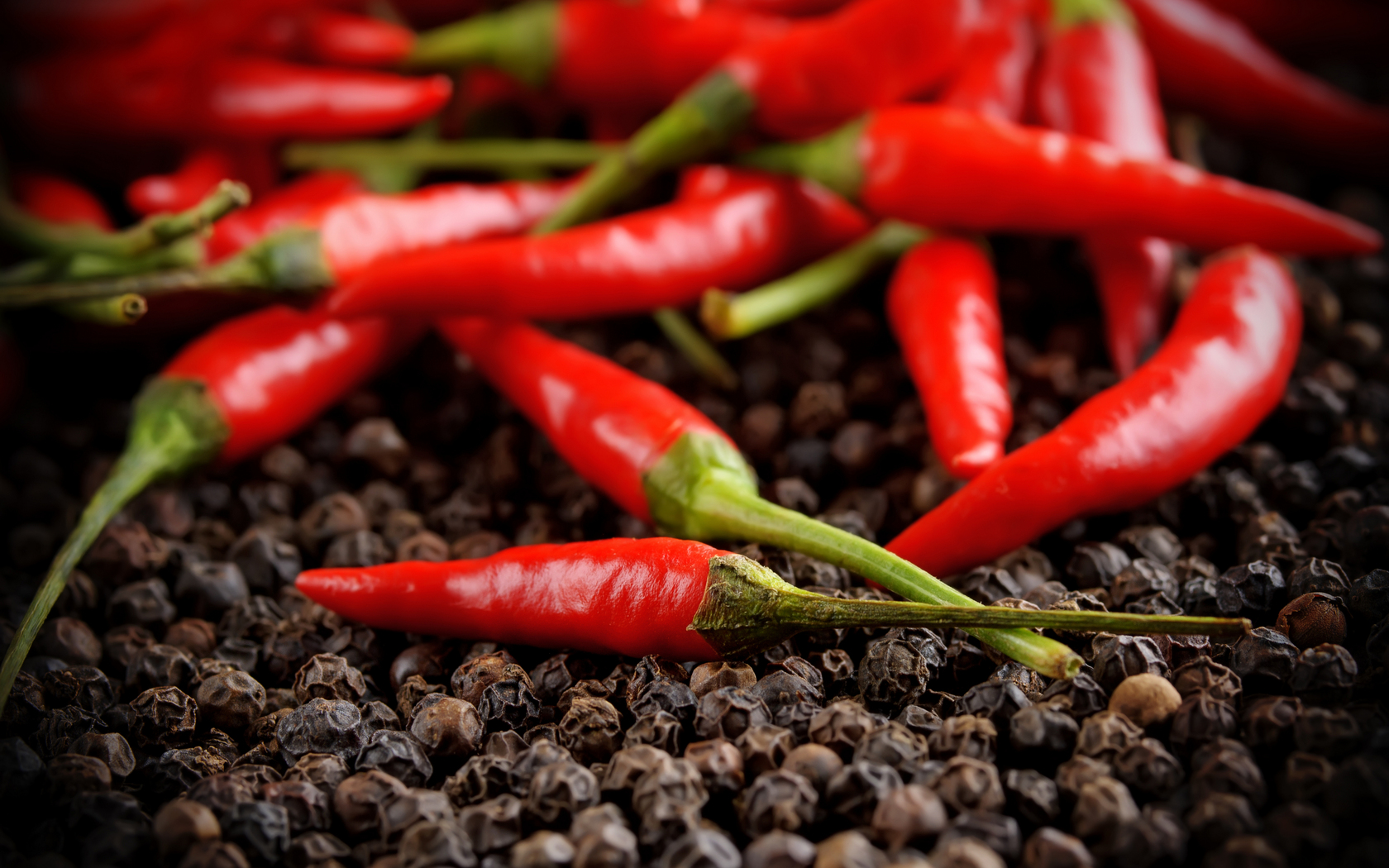 pepper, red, hot, sweet