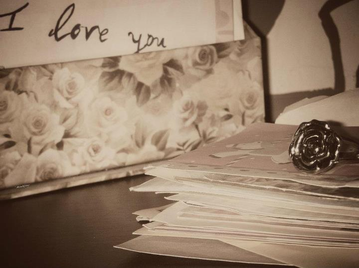 photography, mail, correspondance, love, i love you