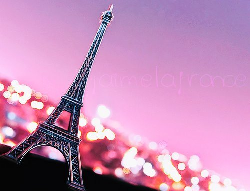 beautiful, eiffel tower, forever, france, inspiration, lights, love, paris, pink, sparkle