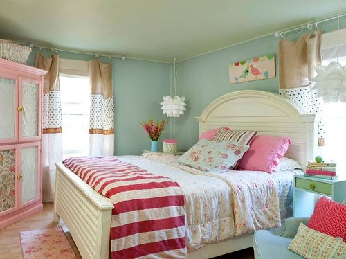 decoraton, girl bedroom, pink
