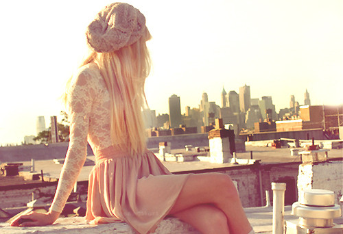 pink, girl, fashion, style, city