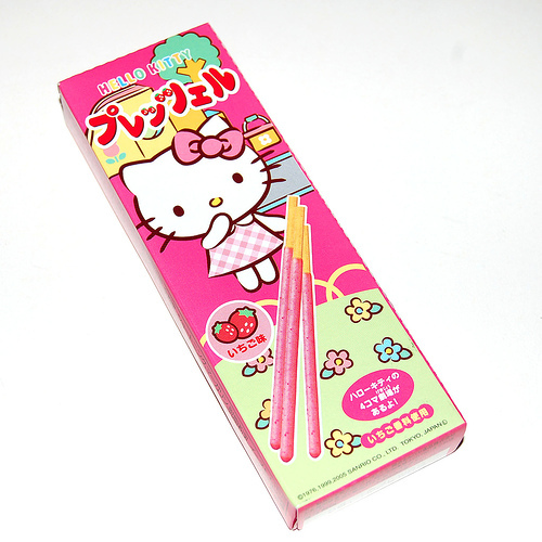 pocky, hello kitty