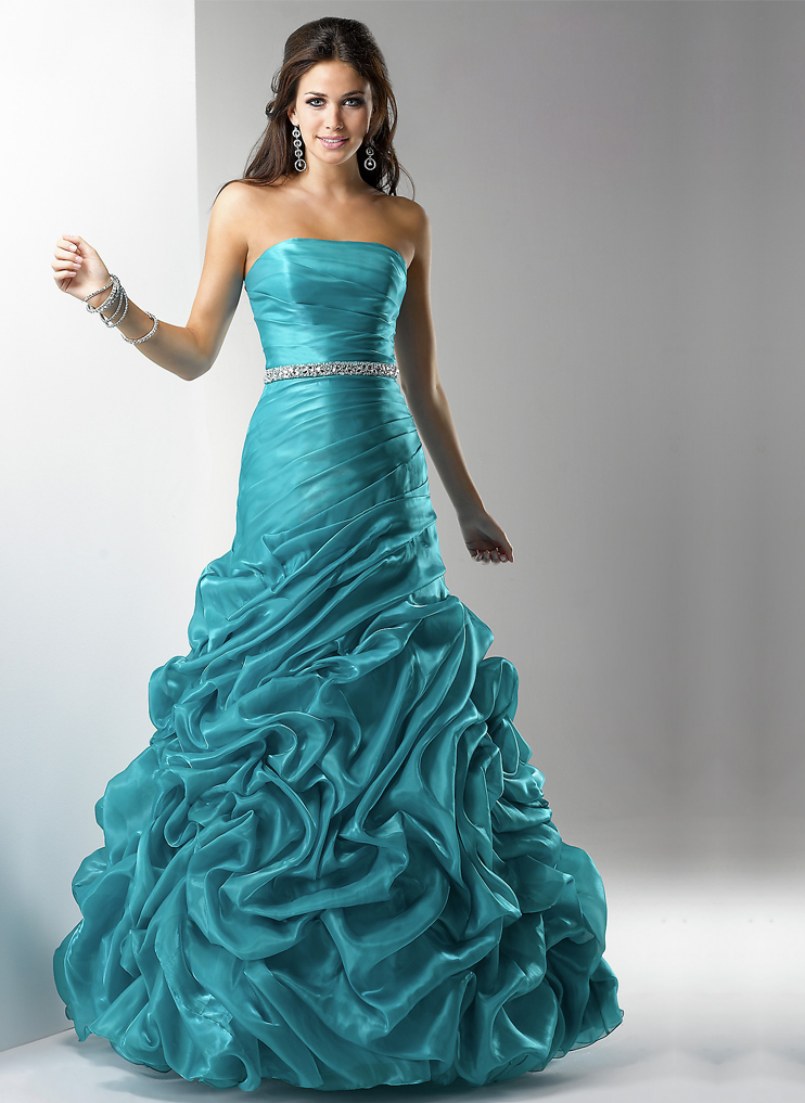 prom dress, evening dress