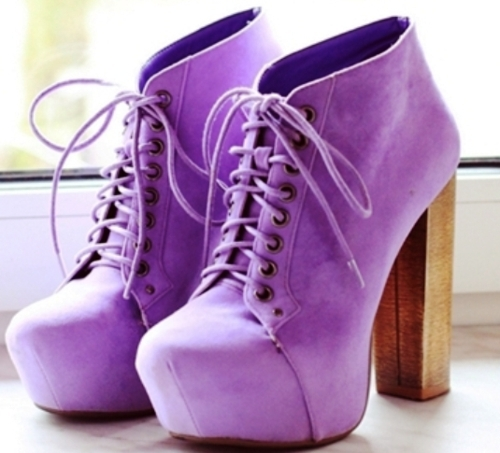 purple, shoes, pumps, hipster
