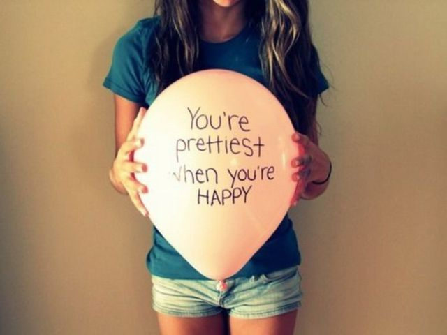 quotes, happy, pretty, girl