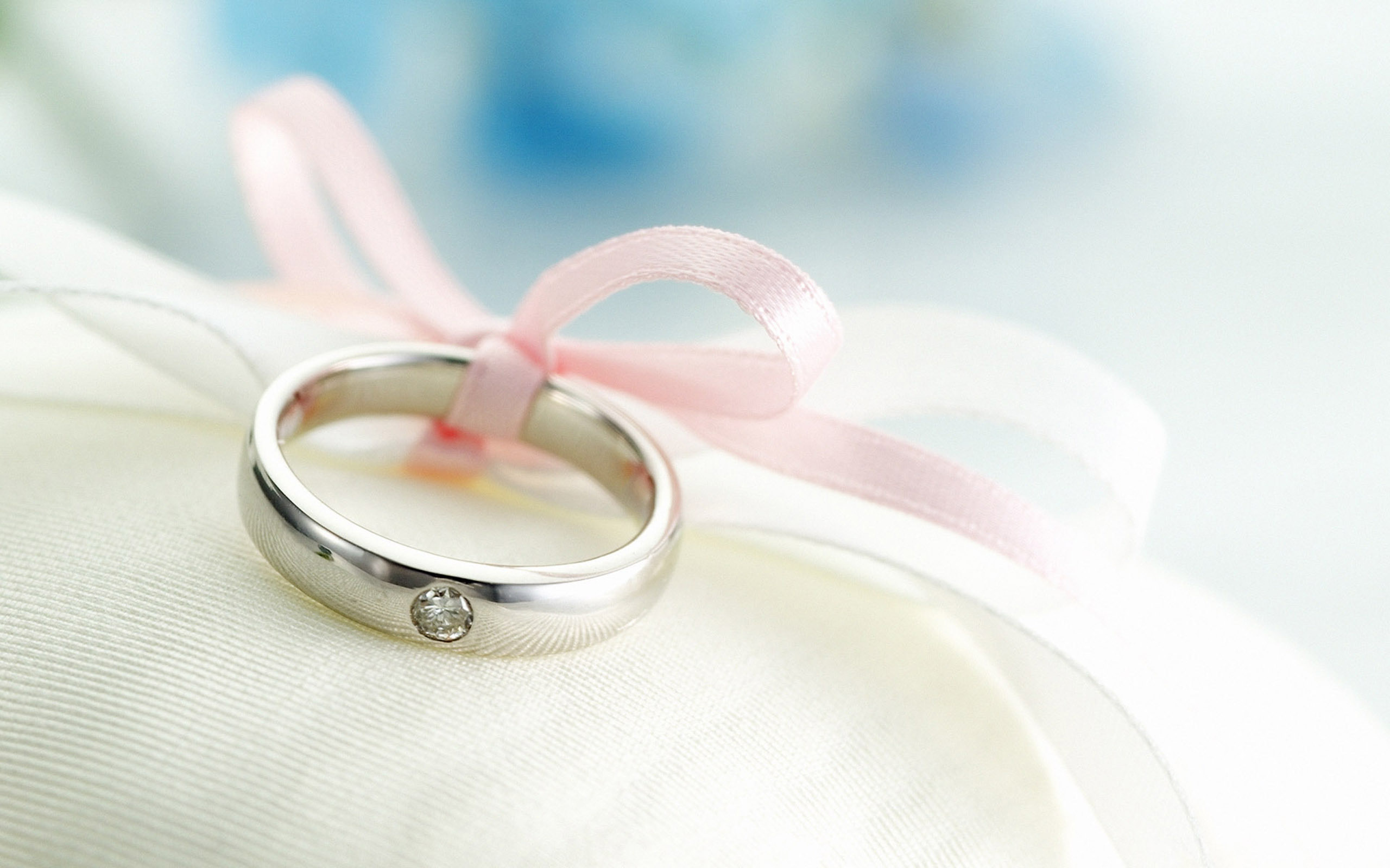 ring, wedding, bow, tenderness