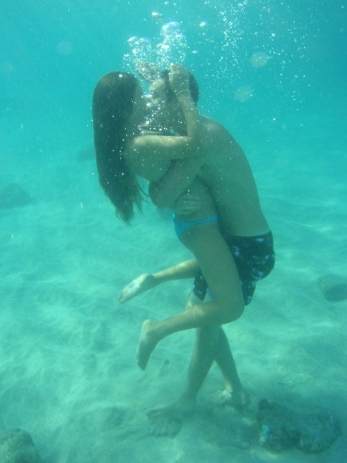 romantic, love, couple, underwater, photography