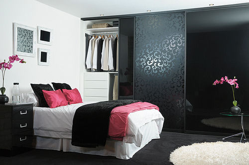 Dark Pink Bedroom Beautiful Bed Black Clothes Cute Fashion Girl Pink Room Sweet