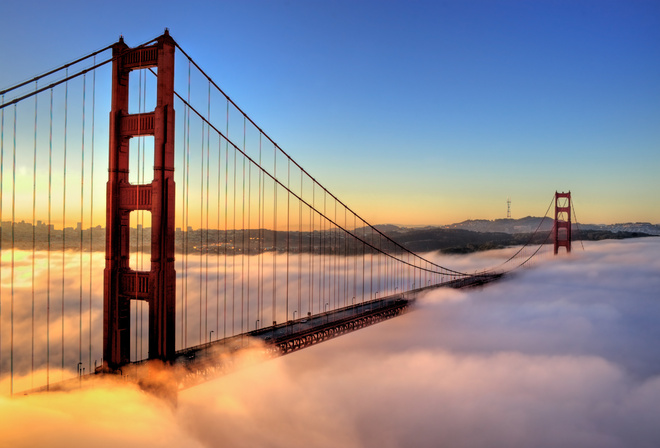 san francisco, a city, bridge
