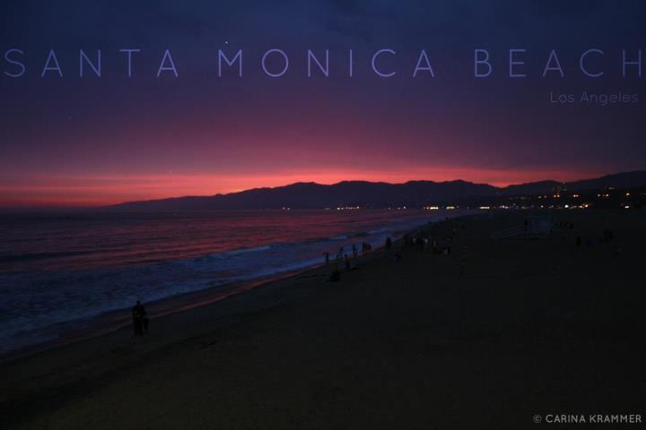 santa monica, pier, california, los angeles, beach