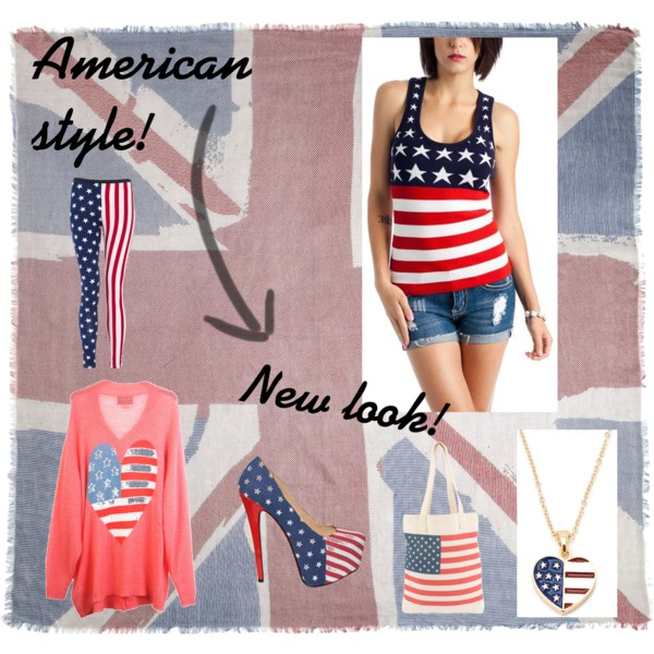 set, america, new look, fashion
