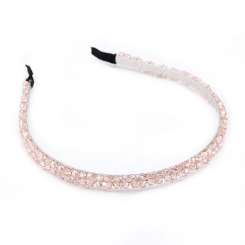 accessories, chic, crystal, crystal headband, elegant, headband, pink, pink headband, shine, shine accessories, trendy