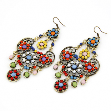 accessories, beautiful, bohemian, bohemian earrings, bohemian jewelry, boho, boho inspired, boho style, colorful, earrings, ethnic, ethnic earrings, fashion jewelry, jewelry, original, shine, shine accessories, unique, vintage, vintage earrings
