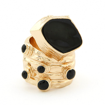 accessories, beautiful, black, black ring, boho, boho inspired, boho ring, boho style, chic, fashion jewelry, gold color, jewelry, original, ring, shine, shine accessories, trendy, unique, urban, urban boho, urban chic, urban style