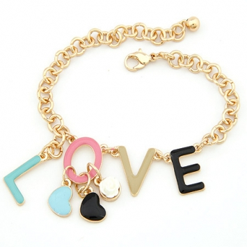 accessories, beautiful, blue, bracelet, charm, charm bracelet, chic, fashion jewelry, heart, jewelry, love, original, romantic, shine, shine accessories, sweet, trendy, unique