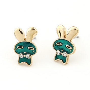 accessories, beautiful, bunny, bunny earrings, chic, cute, cute earrings, earrings, fashion jewelry, jewelry, original, shine, shine accessories, stud, stud earrings, trendy, unique