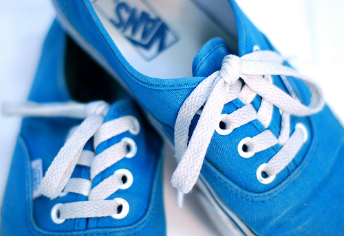 blue, photography, shoes, vans