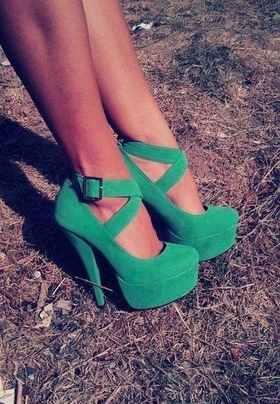 shoes, green, summer, girls