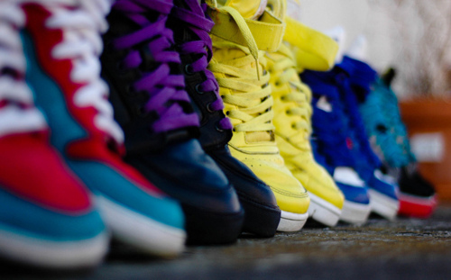 shoes, hightops, photography