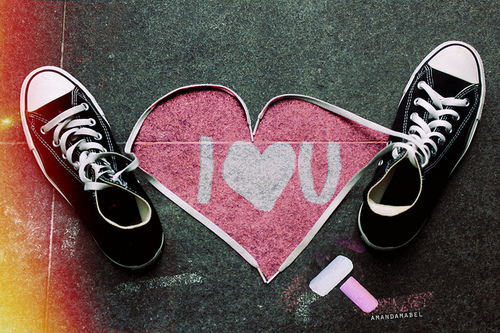 converse, hear, hipster, love, pink, sneakers