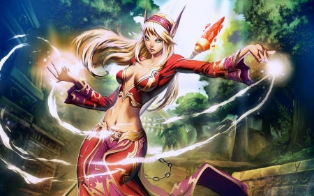 sorceress, warcraft, witch, wow