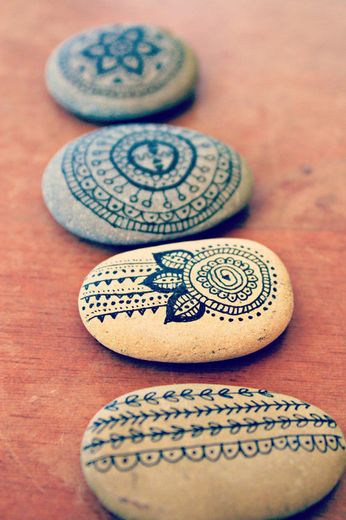 spiritual, rocks, art, design, diy