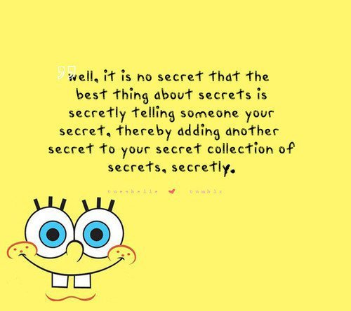 Spongebob quotes
