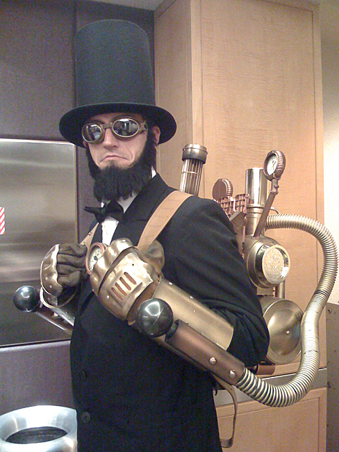 steampunk, lincoln