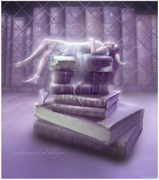 art, beautiful, books, couple, cute, fantasy, fashion, hair, photography, pretty, still life