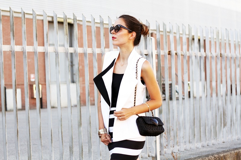 style, fashion, girl, nice, stripes