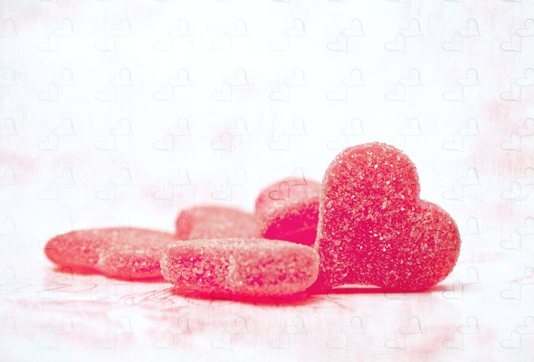 sugar, hearts, sweets