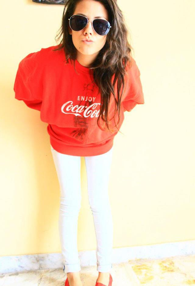 swag, girl, coca cola, fashion, beautiful