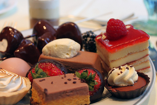 sweets, desserts, chocolate, strawberry, girly