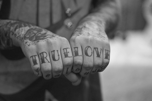 tattoo, true love, cute, fashion, photography
