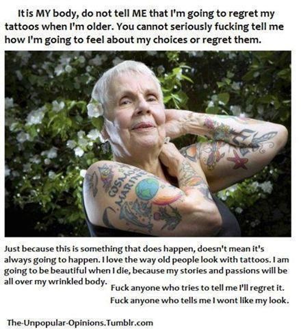 tattoo, true, old, cute, fashion