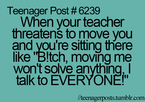 teenager post funny quotes   image 469270 on favim