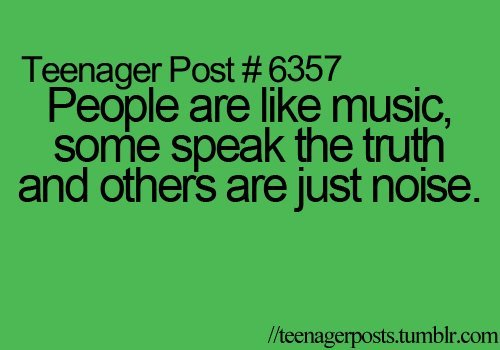 teenager post, true
