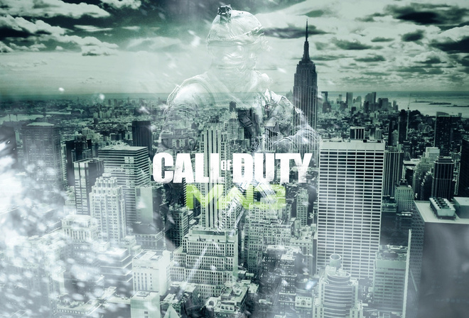 the city, modern warfare 3, art