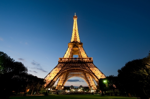 the eiffel tower, paris, the city