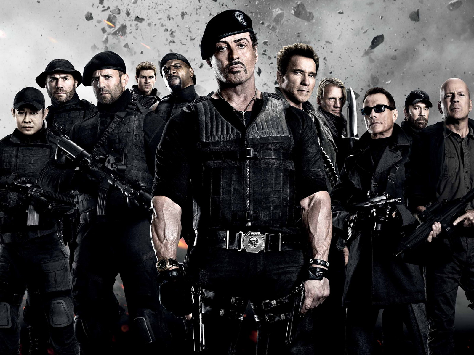 the expendables 2, wallpapers