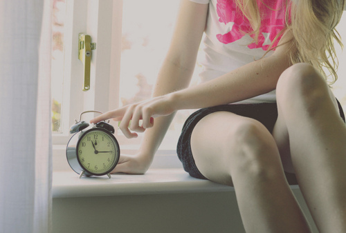 time, girl, pink