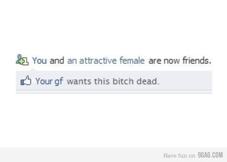 attractive, facebook, friends, funny, girl, lol, truth