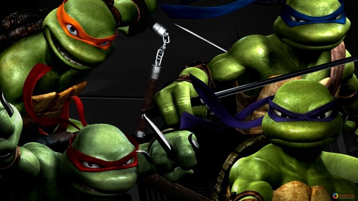 turtles, ninja, cartoon, 1920x1080